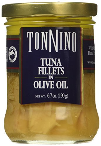 Tonnino Tuna Fillets in Olive Oil (Pack of 6) (Tonnino Tuna Fillets)