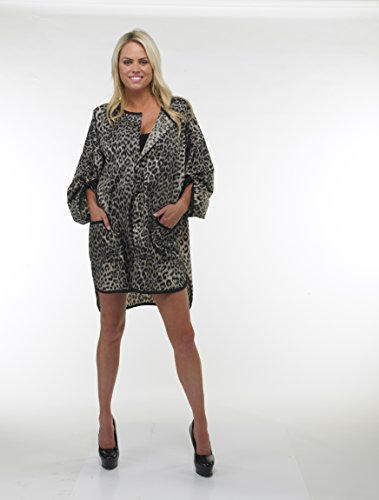 UNDER COVER LOVER - CHEETAH SMOCK