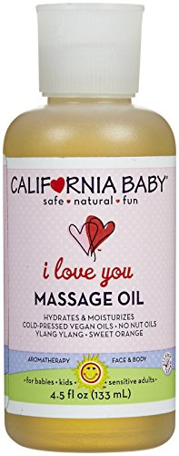 California Baby Massage Oil - I Love You, 4.5 Ounce by California Baby