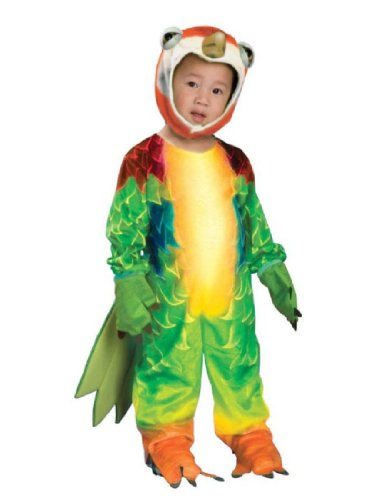 [Costumes For All Occasions Ru885983T Parrot Toddler Costume] (Parrot Infant Costumes)