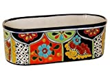 Talavera Oval Window Box - 13.50