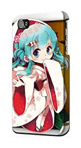 S1210 Hatsune Miku Vocaloid Yuki Snow Miku Case Cover For IPHONE 5C by supermalls