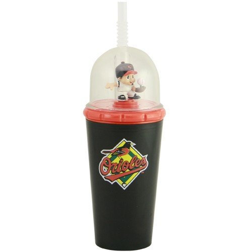 (MLB 8' Wind Up Mascot Sippy Cup (Set of 2) MLB Team: Baltimore Orioles)