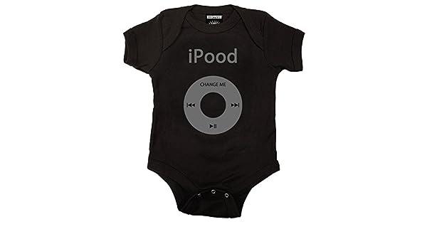 de3f62847 Amazon.com  Kiditude iPood Baby One Piece Bodysuit Romper (12-18 ...