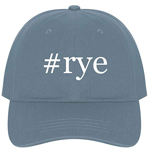 The Town Butler #rye - A Nice Comfortable Adjustable Hashtag Dad Hat Cap, Light Blue