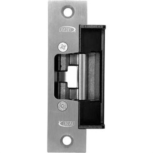Rutherford Controls 6 Series Brushed Stainless Steel Heavy Duty Electric Strike, 12/24 VDC and 12/24 VAC (Pack of 1)