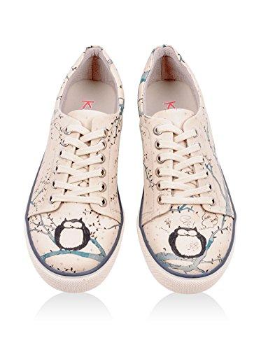 Damen Damen DOGO DOGO Owl Sneaker Sneaker Owl wSx47wIP