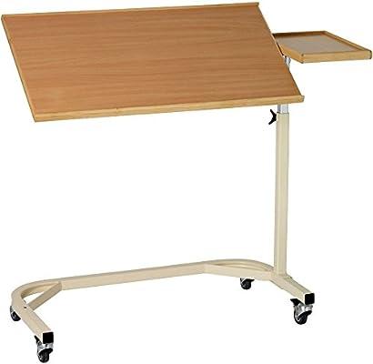 Mesa para cama ajustable - con mesa inclinable mesa auxiliar - la ...