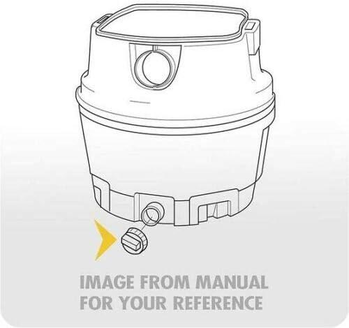 TJPOTO Replacement Part NEW #73185 Drain Cap Wet//Dry Vacs Shop Vacuums for WORKSHOP