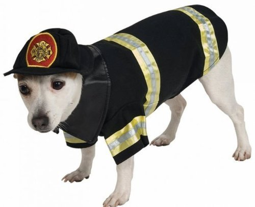 Costumes for all Occasions RU885935LG Pet Costume Firefighter Lg (Dog Firefighter Costume)