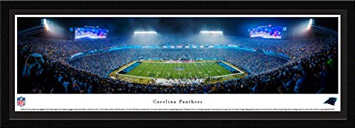 (Carolina Panthers - 50 Yard - Blakeway Panoramas NFL Posters with Select Frame)