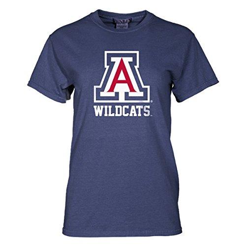 Official NCAA Venley University of Arizona Wildcats U of A Wilber Wildcat BEAR DOWN! Women's Crew Neck T-Shirt (T-shirt 07 Womens)