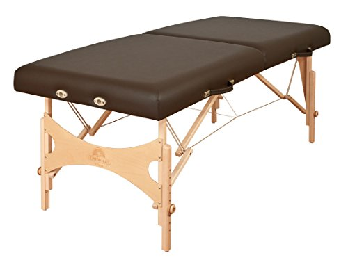OAKWORKS Nova Portable Massage Table, Earth, 33'W 18'-26' H, Semi-Firm padding