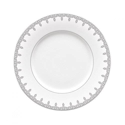 - Lismore Lace Platinum Accent Salad Plate