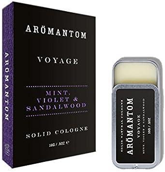 aromantom HOMBRE PERFUME SÓLIDO 0.5oz - VOYAGE: Amazon.es: Salud y ...