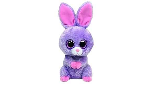 TY Beanie Boos Petunia - Conejo de peluche, color morado: Amazon.es: Juguetes y juegos