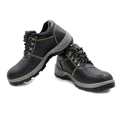 Respirabile Uomo Taglia Sicurezza di Quattro Sportive in Scarpe Basso 46 Lavoro Hibote Adulto Sneaker Antinfortunistiche Verde Scarpe con 36 Acciaio Colori Punta da AUwOd6