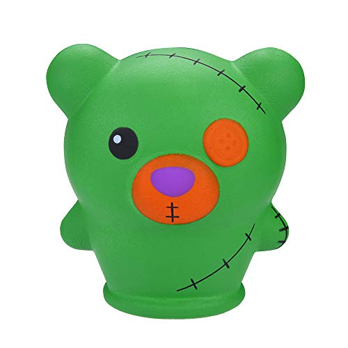welcomeuni 1340 Soft Novelty Toy Halloween Horror Doll Scented Slow Rising Kids Toys Stress Relief Toy