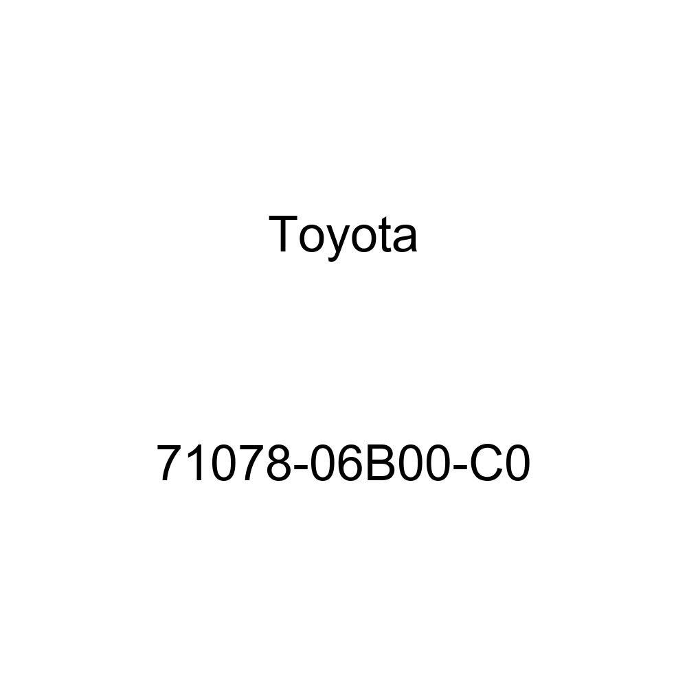 TOYOTA Genuine 71078-06B00-C0 Seat Back Cover
