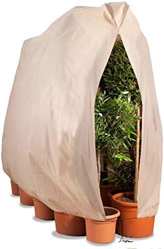 GardenGloss/® Protection Hivernage Plante Premium Diff/érentes Dimensions Protection antigel Hiver Protection hivernage de qualit/é pour Plantes en Pots Protection hivernage pour Palmiers