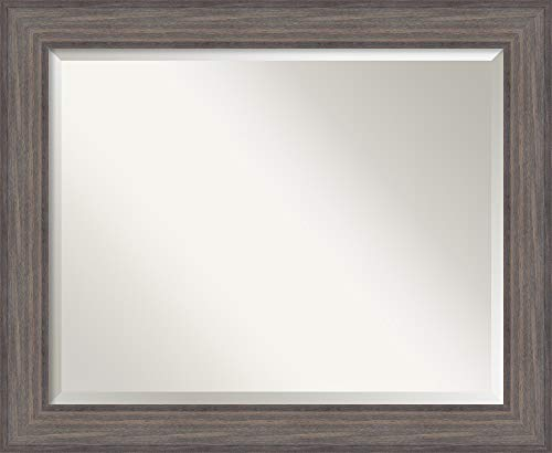 Amanti Art Framed Vanity Mirror | Bathroom Mirrors for Wall | Country -