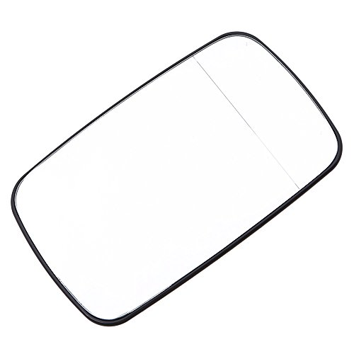 Wagon Driver Mirror Glass (Side Mirror Glass,POSSBAY Wing Mirror Glass Power Heated Lens Replacement Driver Side for BMW 3-Series E46 All Sedan Wagon Compact 1998-2006)