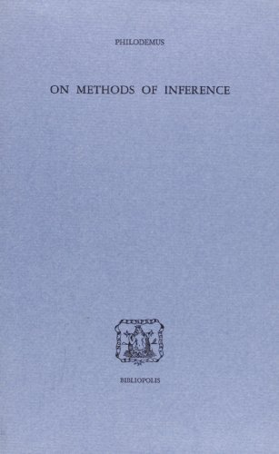 On methods of inference Filodemo