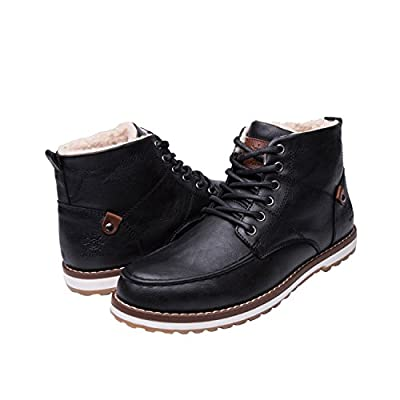 GLOBALWIN Mens Classic Winter Water Resistance Chukka Boot