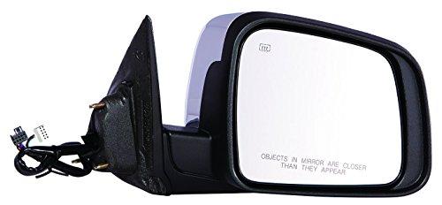 Depo 334-5425R3ECH Passenger Side Mirror (Dodge Durango 11-15 Power Heat W/ Signal W/ Memory W/O Blind Spot Detection (Chrome)
