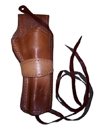 Ruger Single Action (79120-NATURAL, SMOOTH LEATHER GUN HOLSTER FITS A COLT SINGLE ACTION, RUGER VAQUERO, NEW RUGER, BARETTA, TAURUS, AND UBERTI (right))