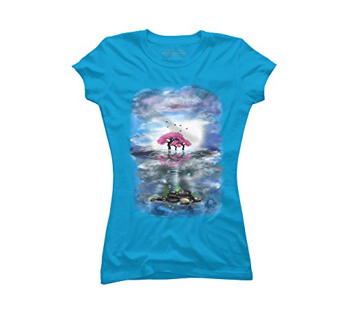 flowering-trees-and-treasures-juniors-graphic-t-shirt-design-by-humans