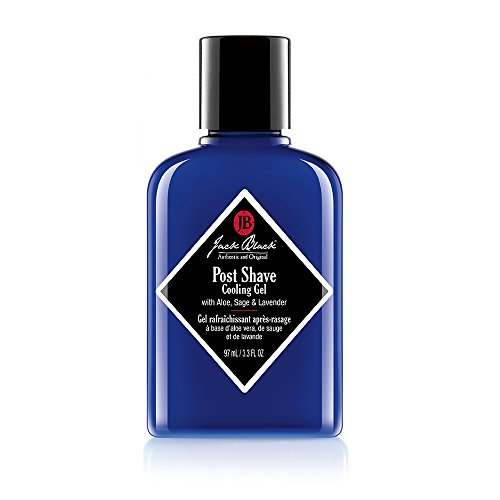 Shave Balm Black After (Jack Black Post Shave Cooling Gel, 3.3 fl. oz.)