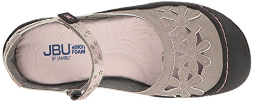 Jbu Door Jambu Vrouwen Wildflower Mary Jane Flat Cement