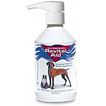 Revital Aid suplemento vitaminico para perros gatos y roedores: Amazon.es: Productos para mascotas