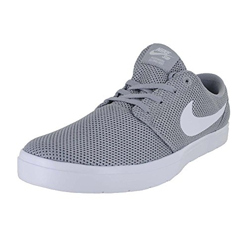 SB Ultralight Nike Wolf Skateboarding Grey Shoe Portmore Men's II White 6xxPpdSw