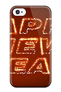 New Arrival Premium 4/4s Case Cover For Iphone (new Year)