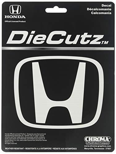 Chroma Graphics 3946 White Honda H Die Cutz Decal