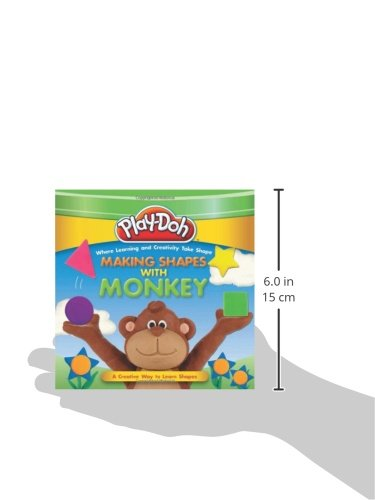 PLAY-DOH: Making Shapes with Monkey (Play-Doh First Concepts)