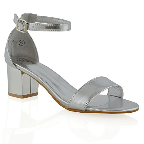 ESSEX GLAMFj-2 - Zapatos de tacón  mujer plateado