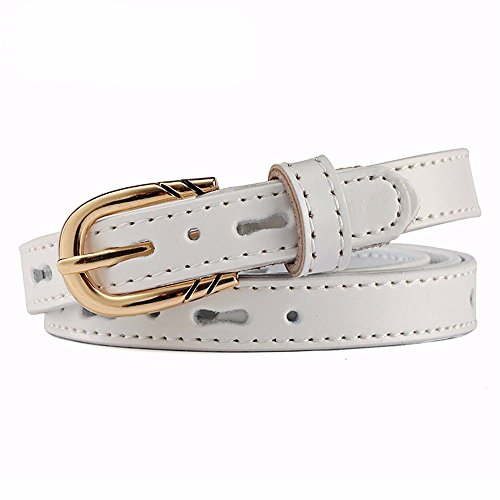 Decorative Needle Leather Belt Fashion Buckle Woman Leather Hollow Summer Waist Simple white Dress red Band T1qCxwz4x
