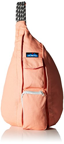 KAVU Rope Bag, Coral, One Size (Pink Paisley Bag Diaper)