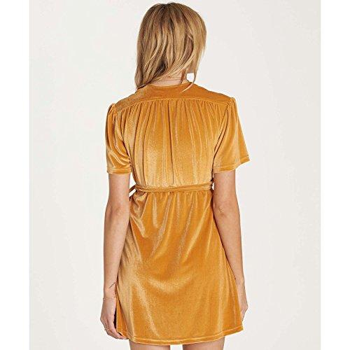 La Luxuriante Des Femmes Pour L'or Billabong Miel Robe De Vie