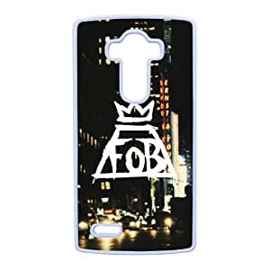 LG G4 Cell Phone Case White Fall out boy F6560256