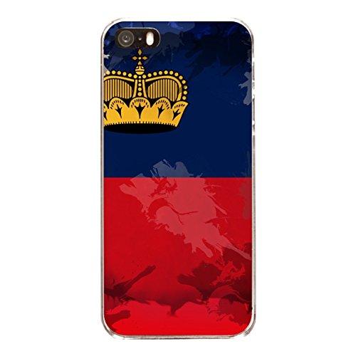 """Disagu Design Case Coque pour Apple iPhone SE Housse etui coque pochette """"Lichtenstein"""""""