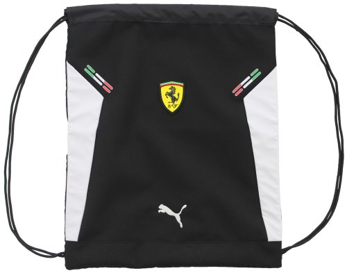 (Puma Ferrari Motorsport Men's Unisex Carrysack Gym Bag Black)