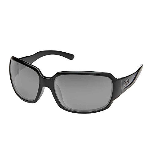 Suncloud Laurel Polarized Sunglasses, Black, - Glasses Fishing Suncloud