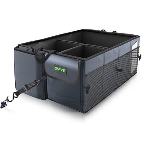 Drive Auto Products Car Trunk Storage Organizer with Straps, (Storage Strap)