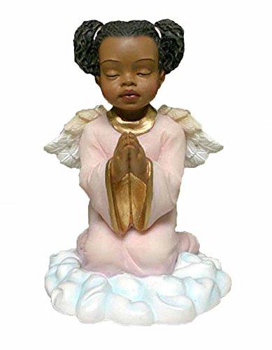 (Praying Girl Angel African American)