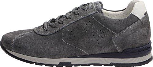 grigio Scarpe 236 41 Jeans Giardini Num Da In Casual Nero Sneakers Uomo Camoscio Col q4SwP5E