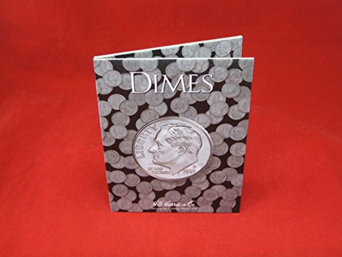Harris Coin Folder – Dimes Plain Folder – #8HRS2686 by H.E. Harris